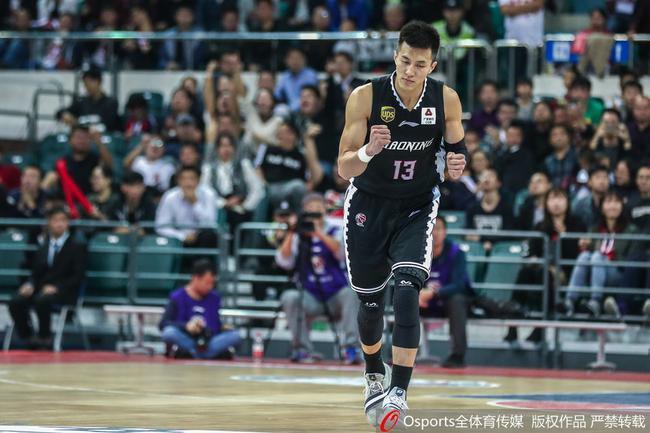 郭艾伦20分韩德君14+16 辽宁117-101胜广州