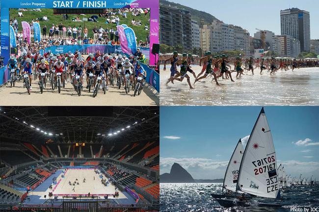 东京奥运测试赛部分赛程公布