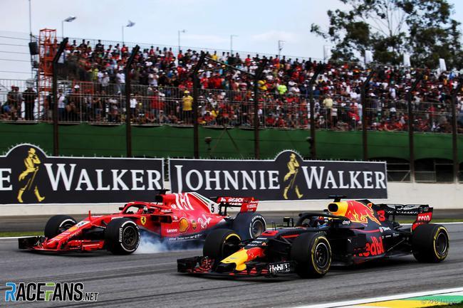 F1轮对轮的争夺