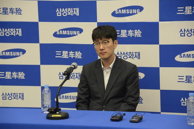 安国铉在赛前音信发布会上