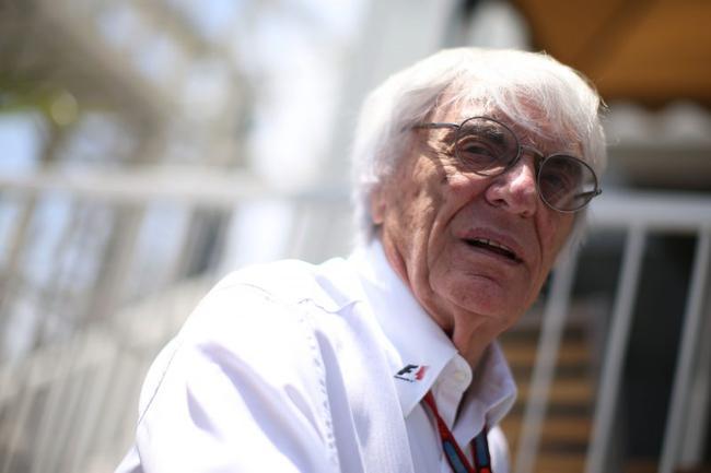 前F1掌门人伯尼-埃克莱斯顿
