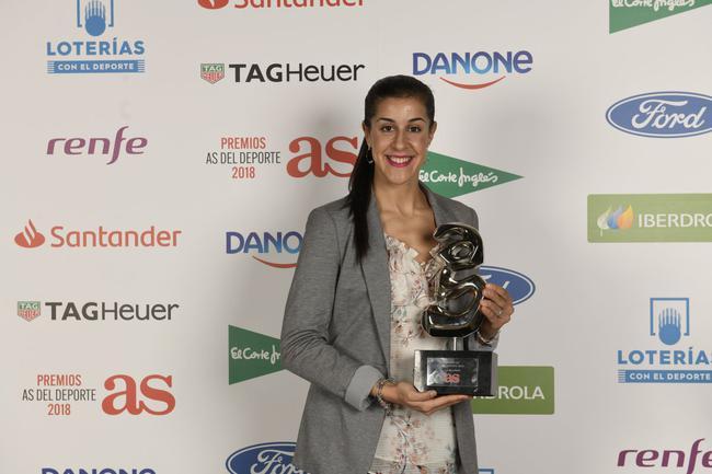 马林在12月初荣获了西班牙当地媒体《阿斯报》颁发的体育大奖