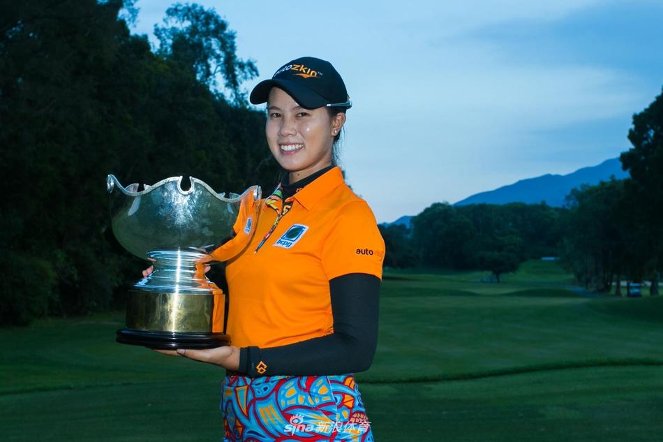 萨兰朋赢得了今年香港女子公开赛冠军