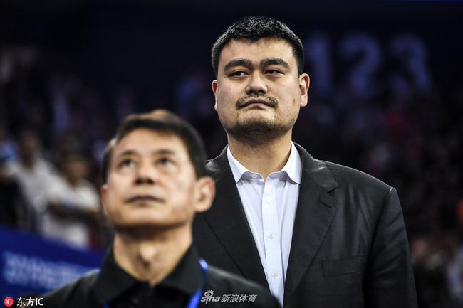 中国篮协主席姚明