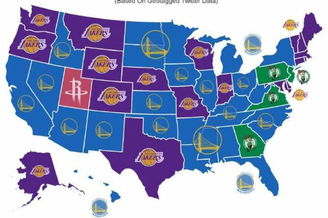 NBA怨恨地图