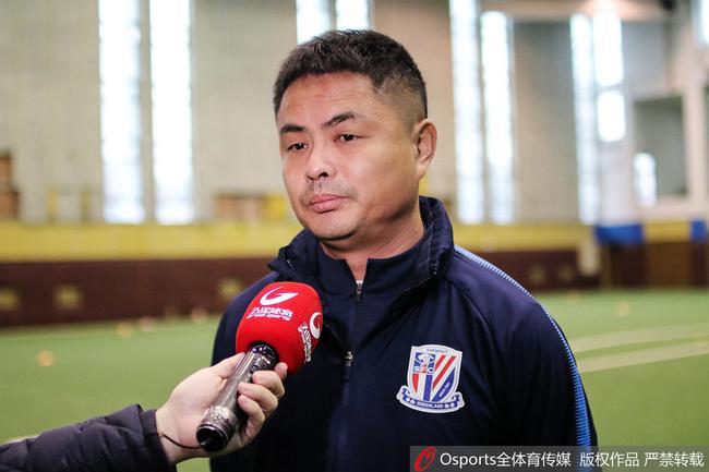 申花U23主帅:再战上港有自信 对徐皓阳受伤有责任