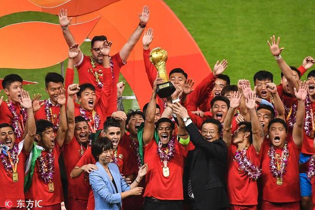 上海上港首夺中超冠军