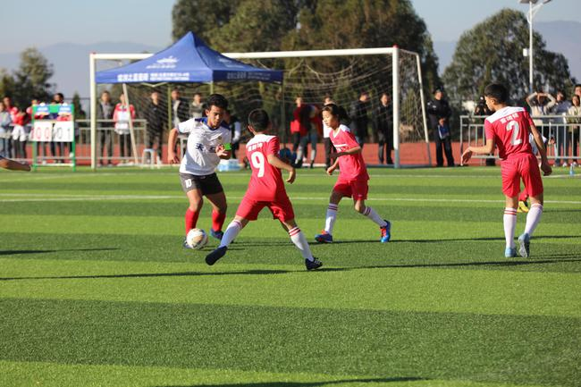玉溪杯2018全国青少年足球冠军杯赛开幕式火热开启