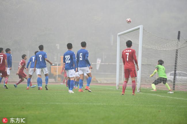 大雾 严寒天气影响U23联赛