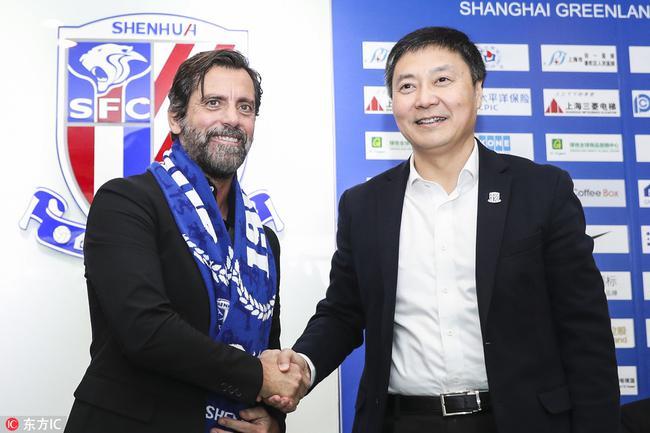 曝申花2年合同签下弗洛雷斯 蓝魔新帅曾与卡帅合作