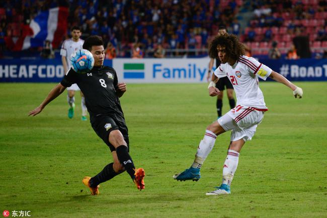 奥马尔因伤无缘亚洲杯(图右)