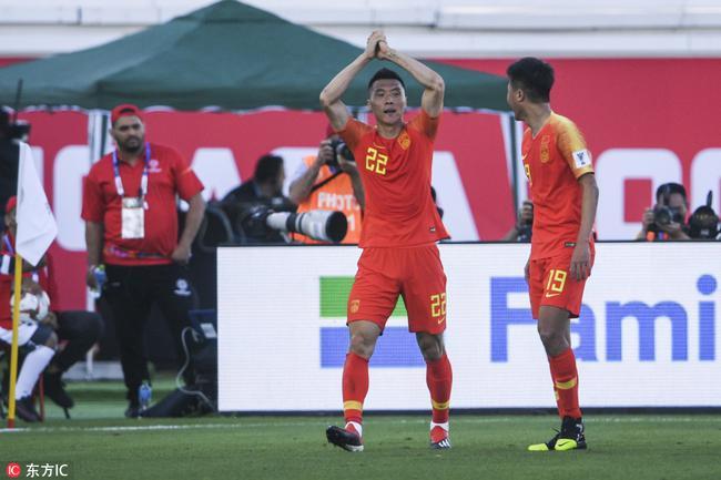 亚洲杯:于大宝6年6度救国足于危难 已升至现役射手榜次席