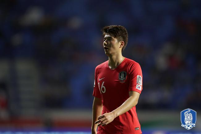 韩国足协宣布奇诚庸需休养一周 战国足时将复出