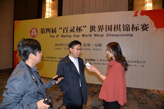 百灵杯专业组冠军王琛赛后接受采访。