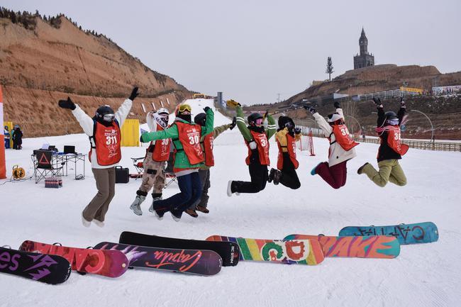 新浪杯高山滑雪公开赛采薇庄园站圆满落幕