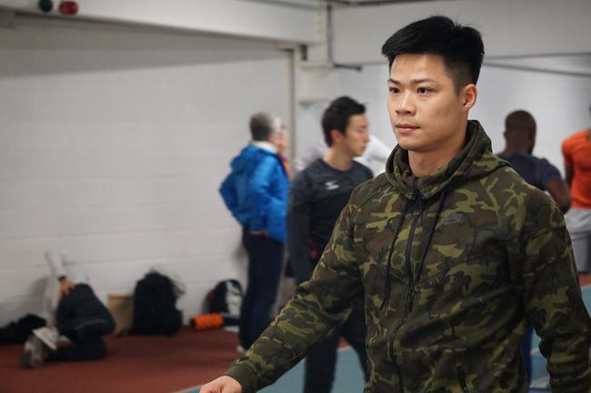 中国飞人苏炳添以6秒52获得男子60米冠军,并两破赛会纪录