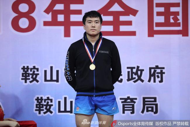 去年全锦赛梁靖崑夺冠