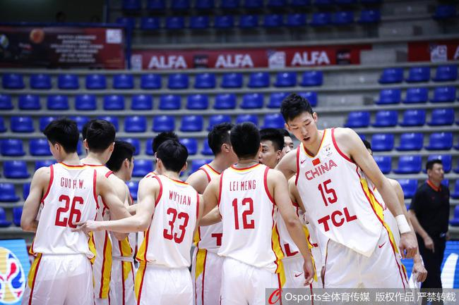 中国男篮结束了世预赛全部征程