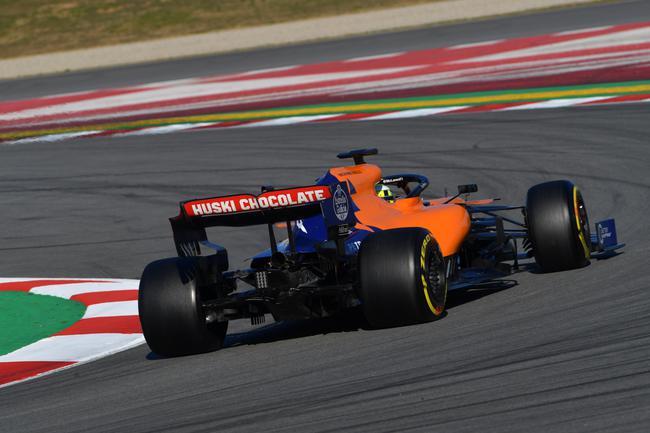 迈凯伦车队诺里斯跑出最快圈速