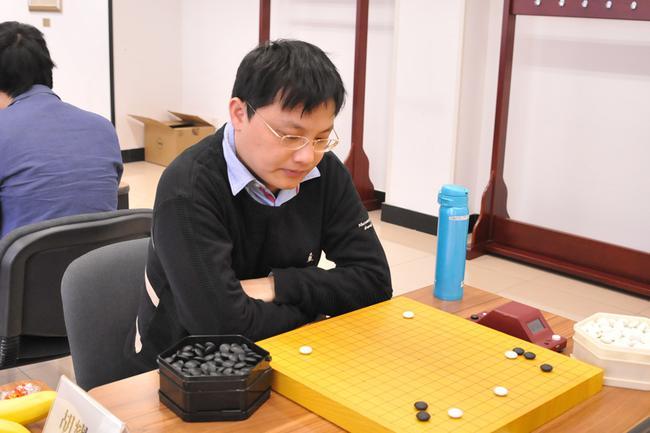 胡耀宇在比赛中