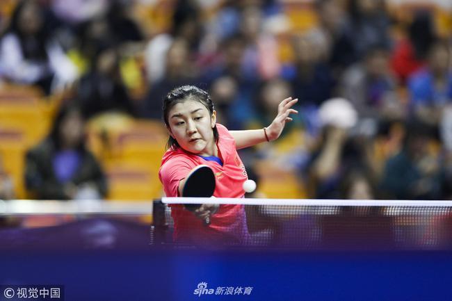 陈梦成功锁定2019年世乒赛单打门票