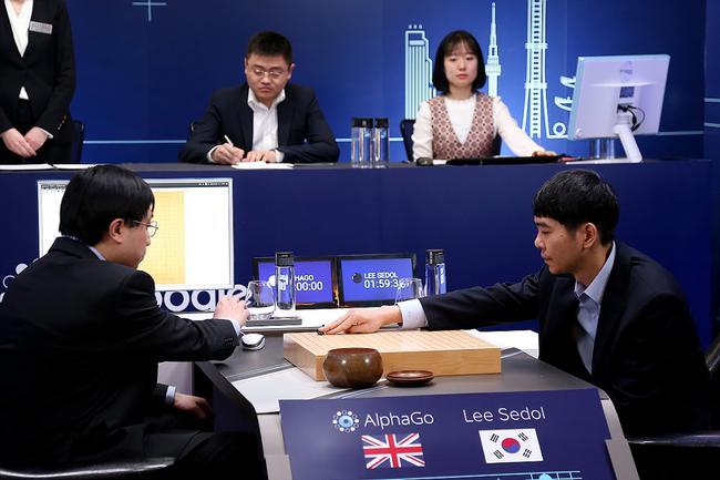李世石与AlphaGo人机大战