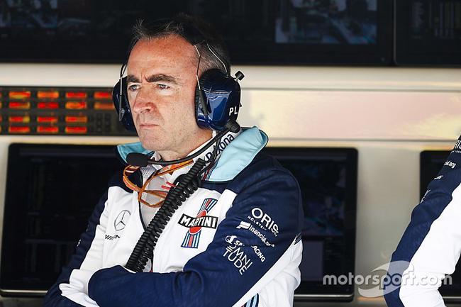 F1威廉姆斯车队技术主管帕蒂-洛维