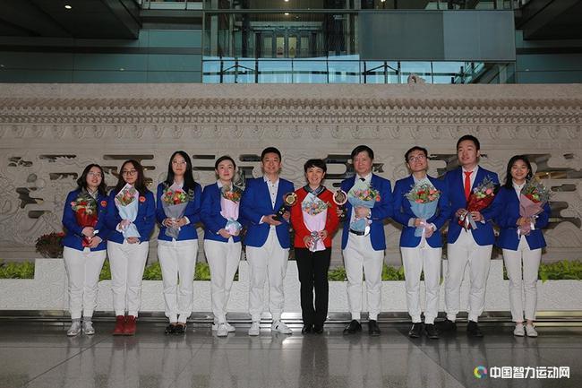 中国国象队凯旋
