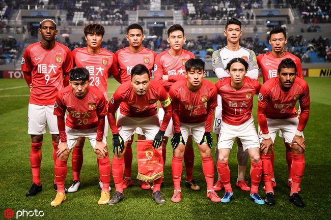 亚洲俱乐部排名:恒大第8创近6年新低 上港排第9