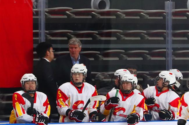 中國女子冰球隊