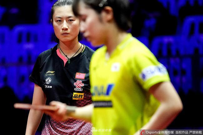 世乒赛日本女队被国乒团