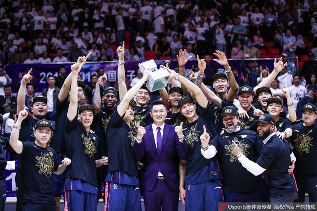 广东队队史第九冠