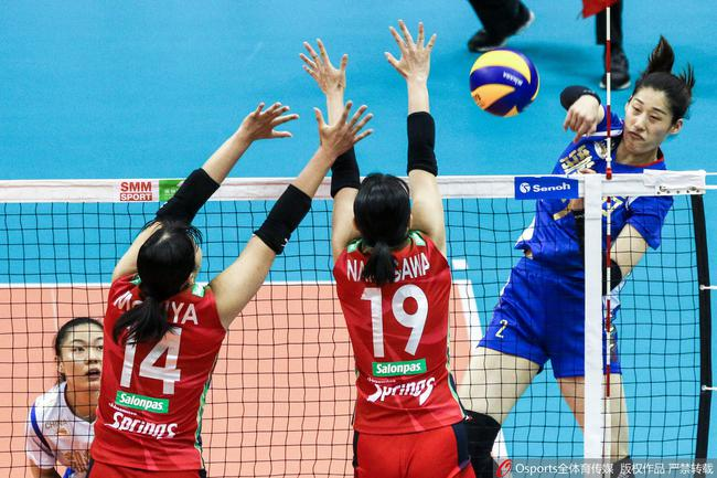 女排亚俱杯天津3-0横扫日本 晋级决赛将战泰国队