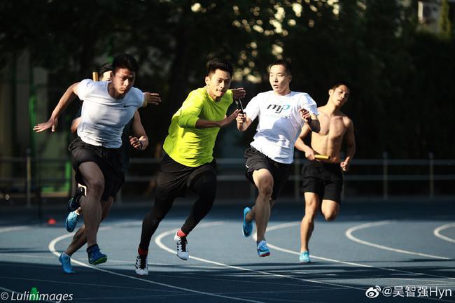 中國隊備戰