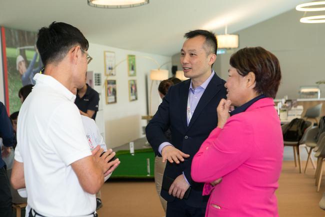 潘仲光:乐见香港女子高尔夫成长 盼8位华人战奥运