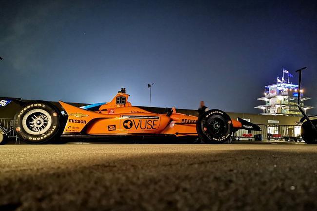迈凯伦印地500赛车
