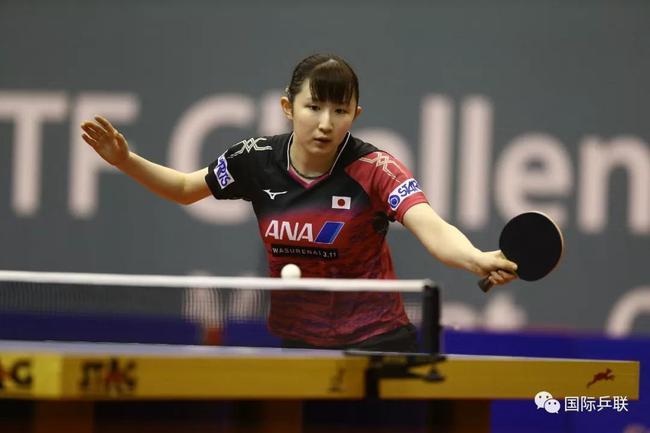 本赛季三夺冠军的早田希娜