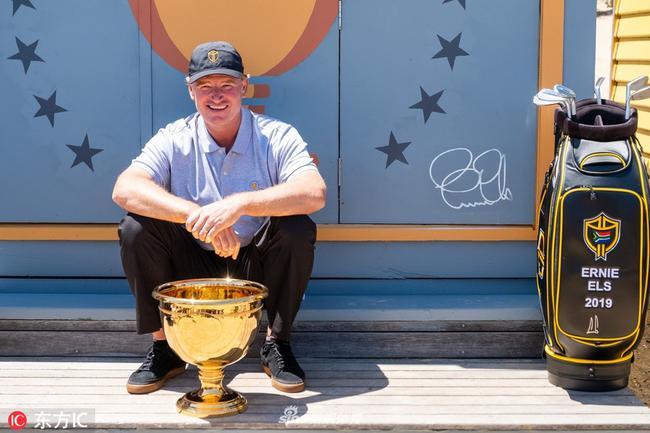 总统杯国际队队长埃尔斯