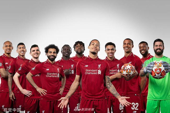 利物浦公布欧冠决赛参赛名单