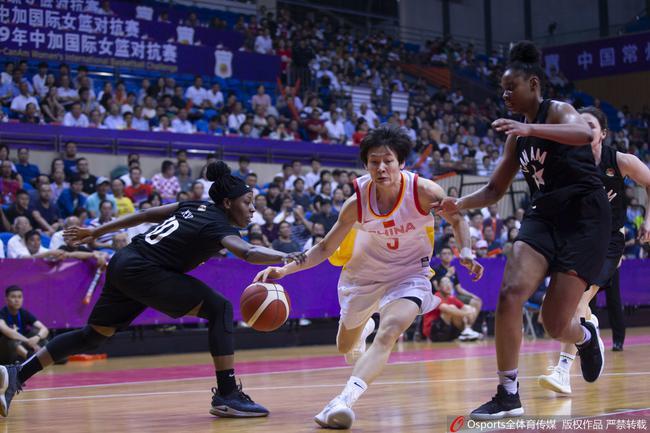 中国女篮取得炎身赛三连胜