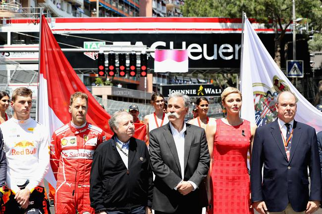 F1掌门人。切斯-凯雷与国际汽联主席让-托德
