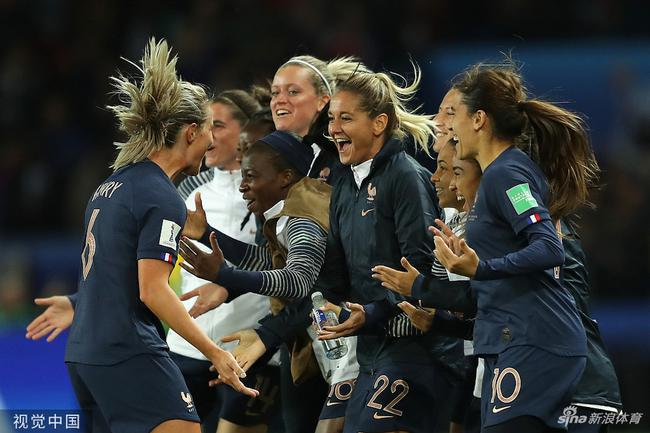女足世界杯揭幕戰法國大勝