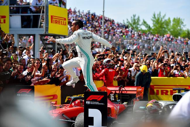 F1添拿大站汉密尔顿获胜