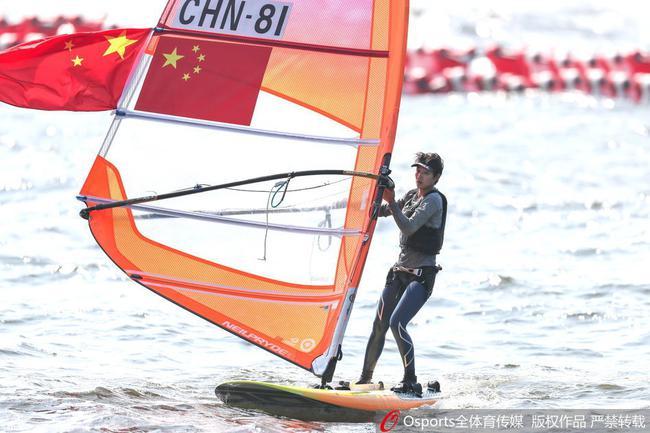 中國帆船帆板隊資料圖