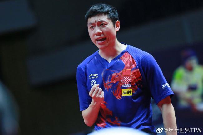 许昕在日本公开赛独揽三冠