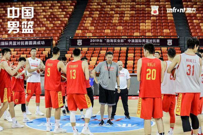 中国男篮将迎来今夏首场热身赛