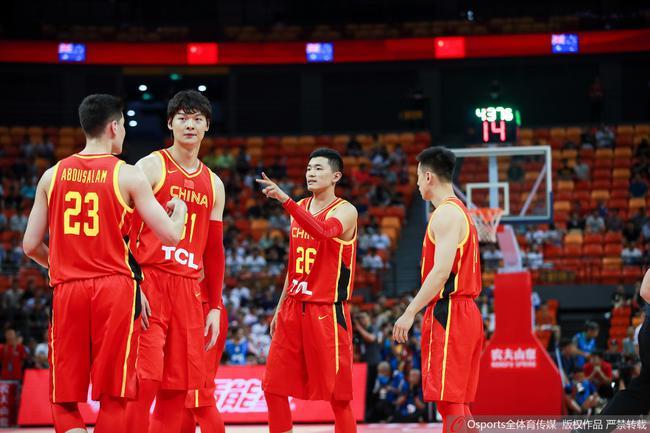 中国男篮炎身赛开门红