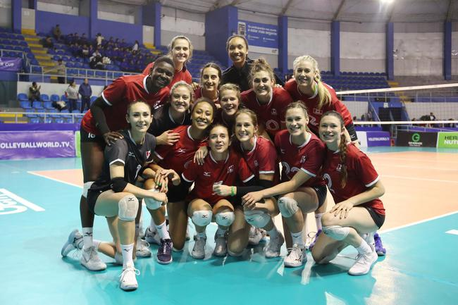 女排挑战者杯中国台北两连败 加拿大阿根廷进四强