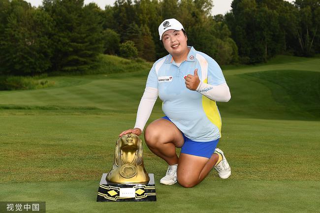 冯珊珊高尔夫生涯成就大盘点 LPGA赛胜利达到十场
