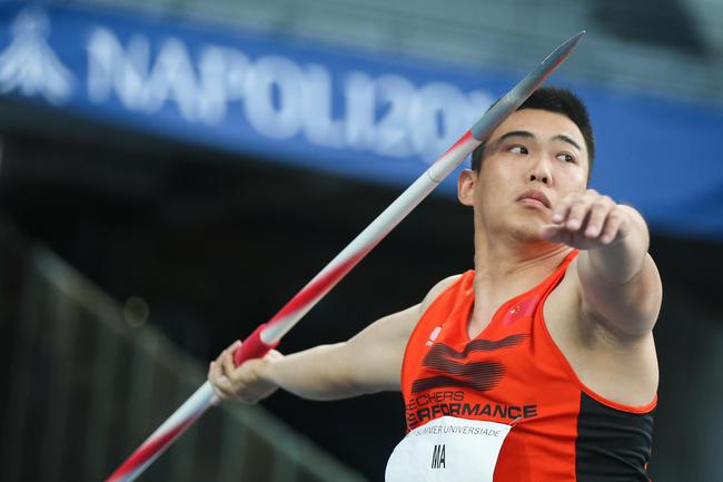 马群以79米62的成绩获得铜牌